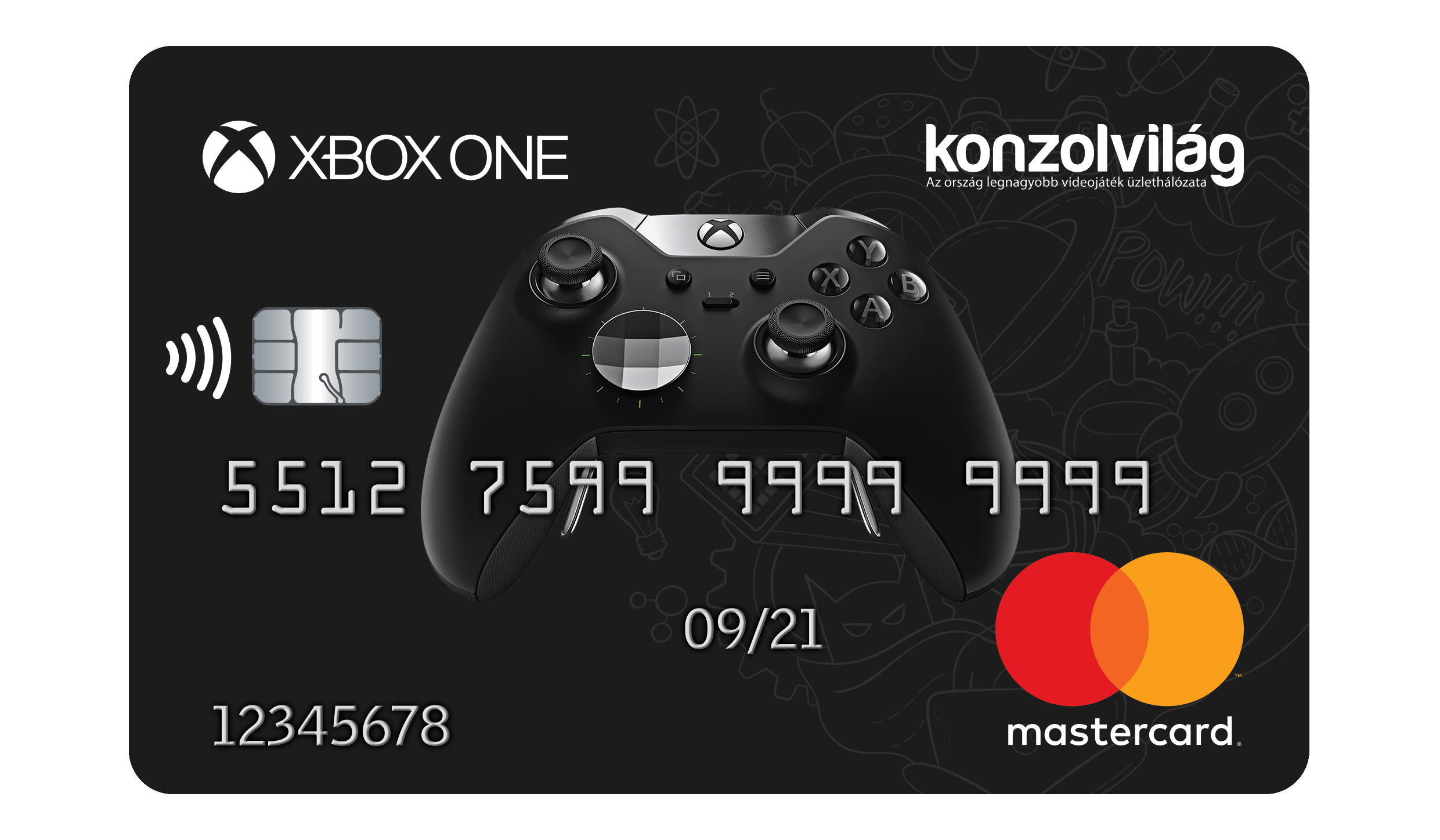 Konzolvilág MasterCard