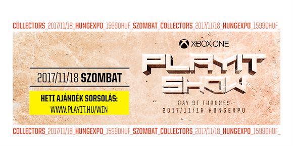 PLAYIT Collectors szombati napijegy