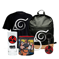 Naruto ajándékok